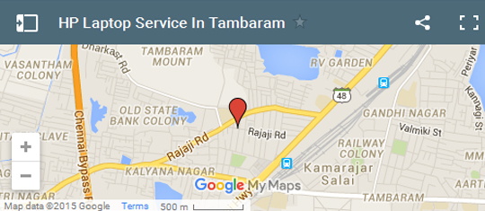 HP Service Center in Tambaram
